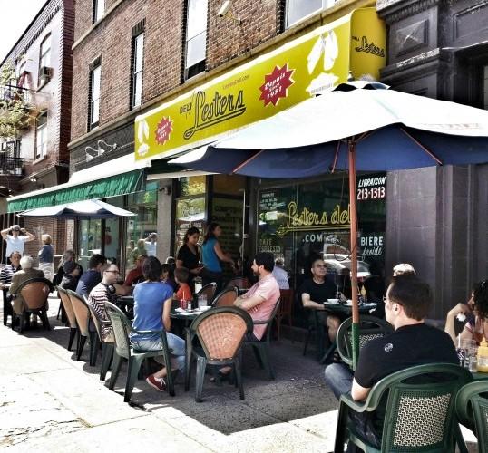 Outremont, Bernard Street, Lesters Deli, Outremont Restaurants