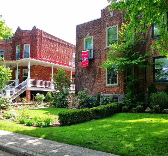 Outremont Style Homes And Architecture, Outremont Habs Fans