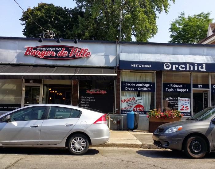 Montreal Ouest Village, Westminister Av