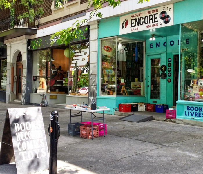 NDG Local Vinyl Shop Encore