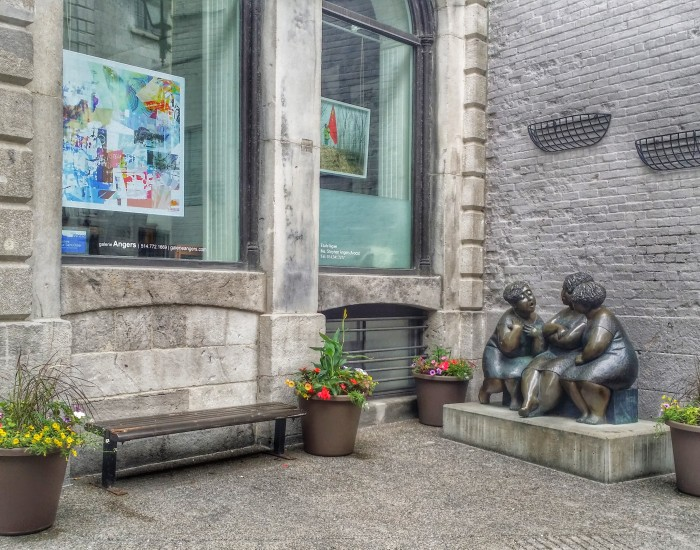 Art on ST Paul Street, Old Montreal
