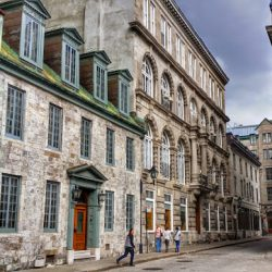 Old Montreal Style Homes and Architecture