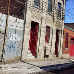 Griffintown Old Buildings and Archtiecture