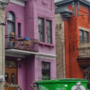 Mile End Colorful Neighborhood