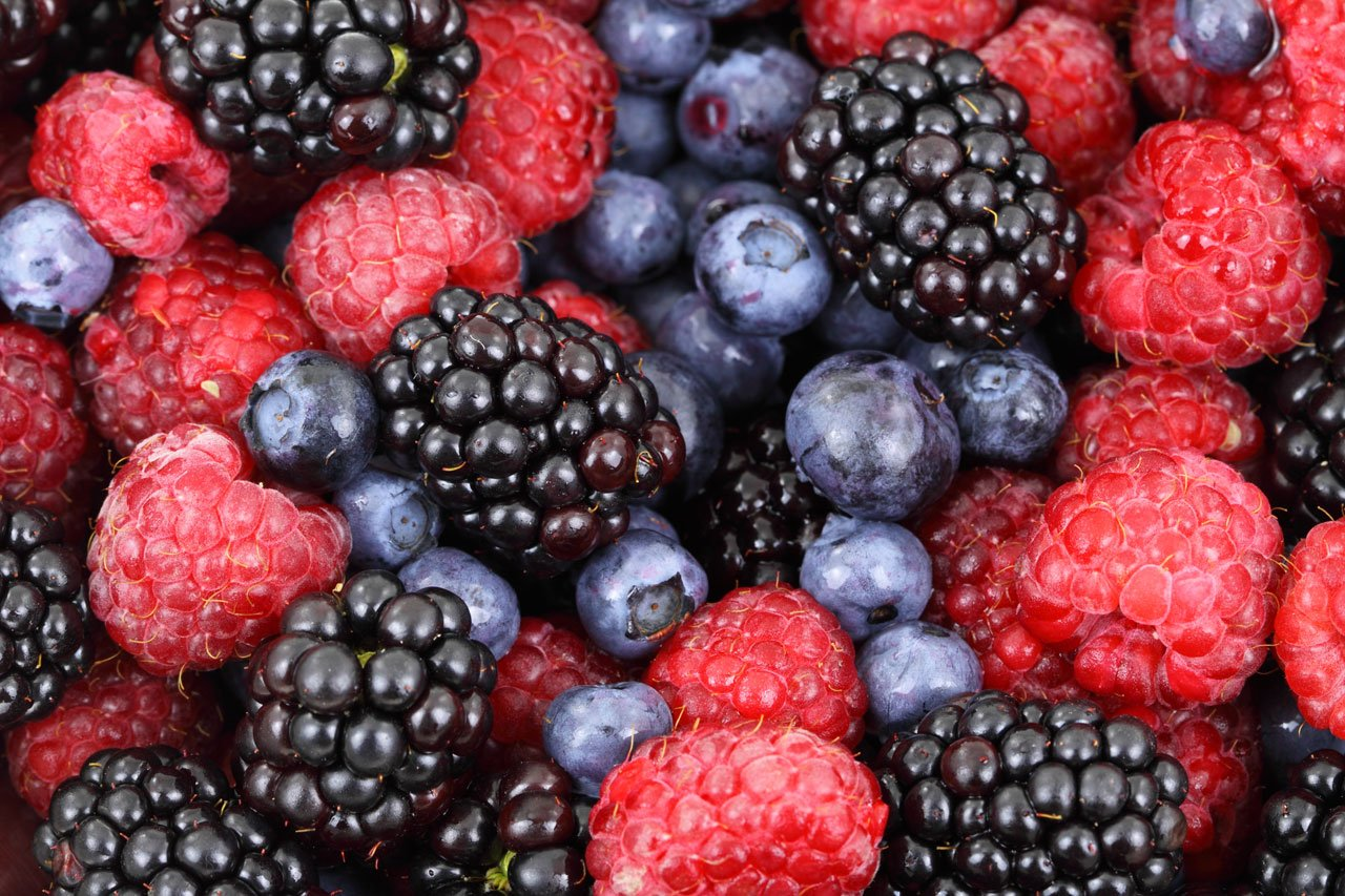 luscious berries